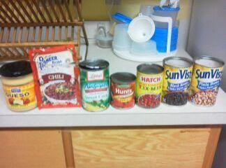 add corn,tomato sauce, diced tomatoes, and queso