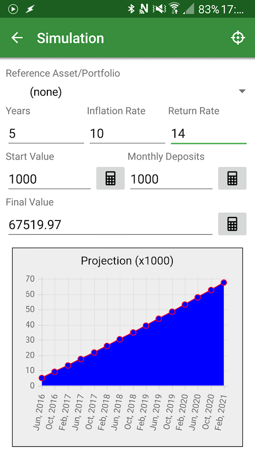 InvestControl License- screenshot