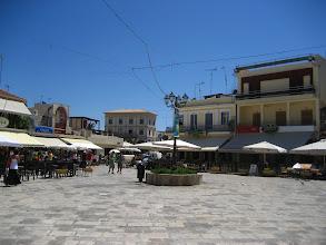 Photo: Zakynthos meydanı.  Zakynthos centrum.