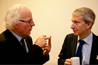 Photo: Jozef De Witte – Chair of the Equinet Executive Board and Andreas Stein – Head of Unit, Equal Treatment Legislation D.1, DG Justice EC