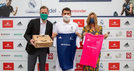 II Circuito de Pádel Solidario de la Fundación Real Madrid by Santander