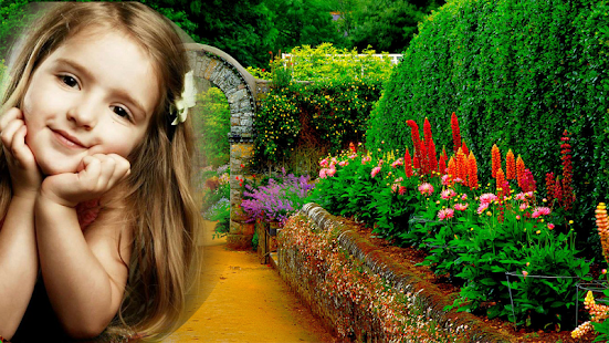 Garden Photo Frames HD- screenshot thumbnail