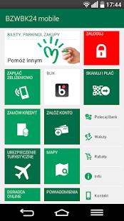 BZWBK24 mobile Screenshot 1