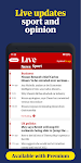 screenshot of The Guardian - Live World News, Sport & Opinion