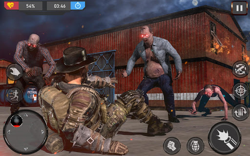Rivals Dead Shooter - Zombie: Frontier Game 2020 APK MOD screenshots 5
