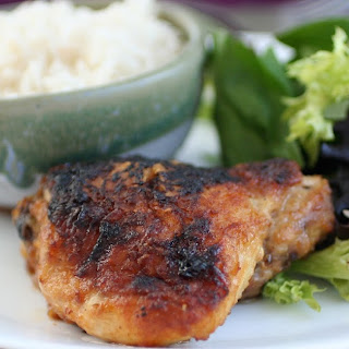 Ginger Maple Glazed Chicken