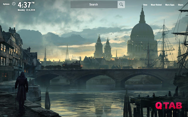 Assassins Creed Syndicate New Tab Wallpapers
