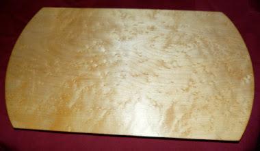 Photo: bird's eye maple tray
