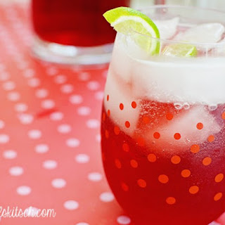 Sparkling Pomegranate Punch.