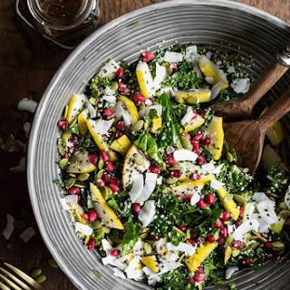 Superfood Crunch Salad with Homemade Balsamic Apple Vinaigrette Recipe
