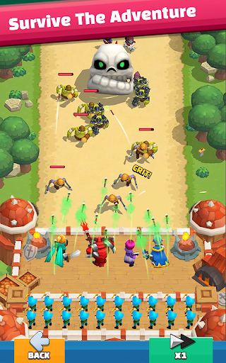 Wild Castle: 3D Offline Strategy Defender TD  screenshots 9