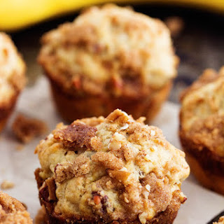 Banana Bread Streusel Muffins