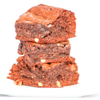 Fudgy Peanut Butter Marshmallow Brownies.