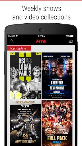 FITE - Boxing, Wrestling, MMA & More 4.2 screenshots 8