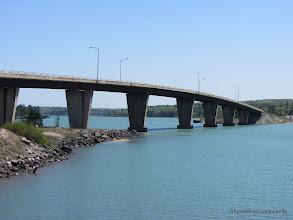 Photo: St. Joseph Island Bridge