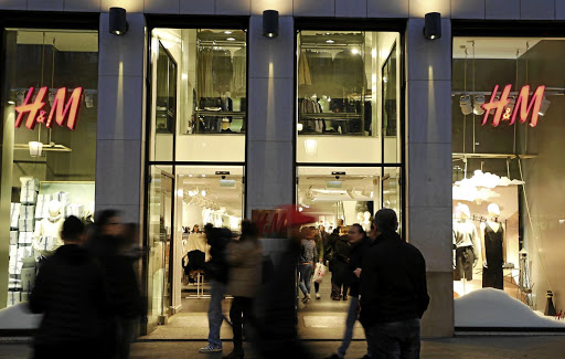 Swedish message: An H&M store in Barcelona, Spain. The group has posted rising sales in SA Picture: REUTERS