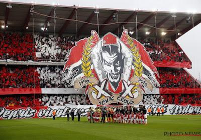 Les Ultras Inferno 1996 soutiennent une association liégeoise