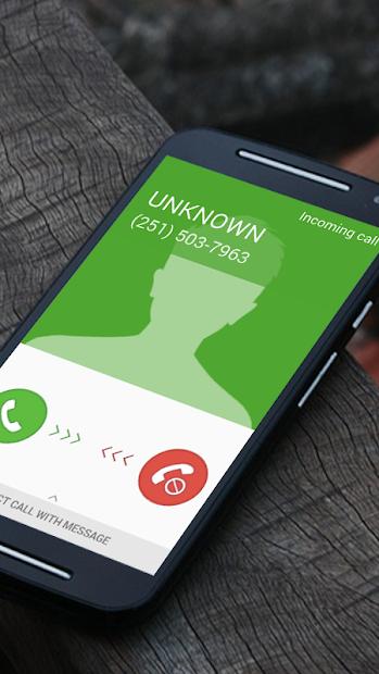 Fake call - prank Android App Screenshot