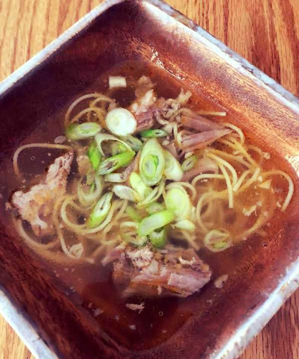 Filipino Pork Noodle Soup In Instant Pot Recipe Just A Pinch