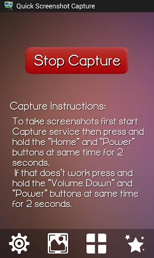 Quick Screenshot Capture