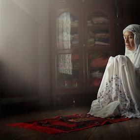 Doa dan Harapan by Rifa Riza - People Portraits of Women