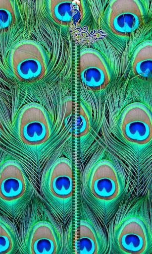 Peacock Zipper UnLock