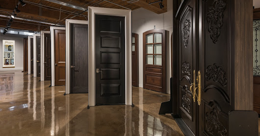 Glenview Haus Showroom - Custom Doors & Wine Cellars, Chicago, IL