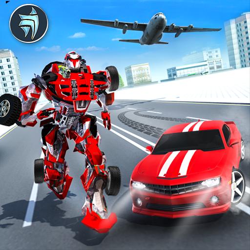 Multi Robot Transport Plane Simulator (game)