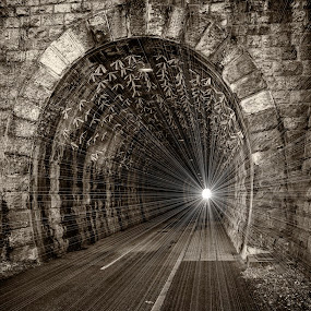 Tunel of death by Damir Ipavec - Abstract Fine Art ( death, tunel )