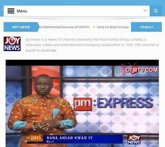 GhanaSky GTV, Adom TV screenshot 9
