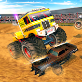 Crash Monster Truck Destruction