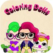 Tải Lol dolls coloring book WOW miễn phí