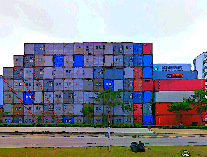 Photo: Containers