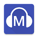 Material Audiobook Player icon