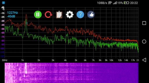 Speccy ud83dudcca Spectrum Analyzer  screenshots 4