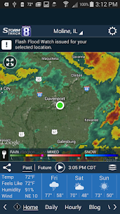 WQAD Storm Track 8 Weather- screenshot thumbnail