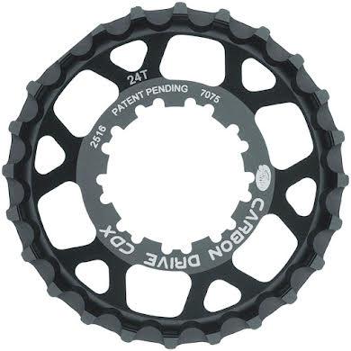 Gates CDX:SL Rear Sprocket for 9-Spline Freehub - 24t, Black alternate image 0