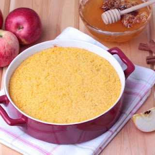Honey Apple Couscous Bake
