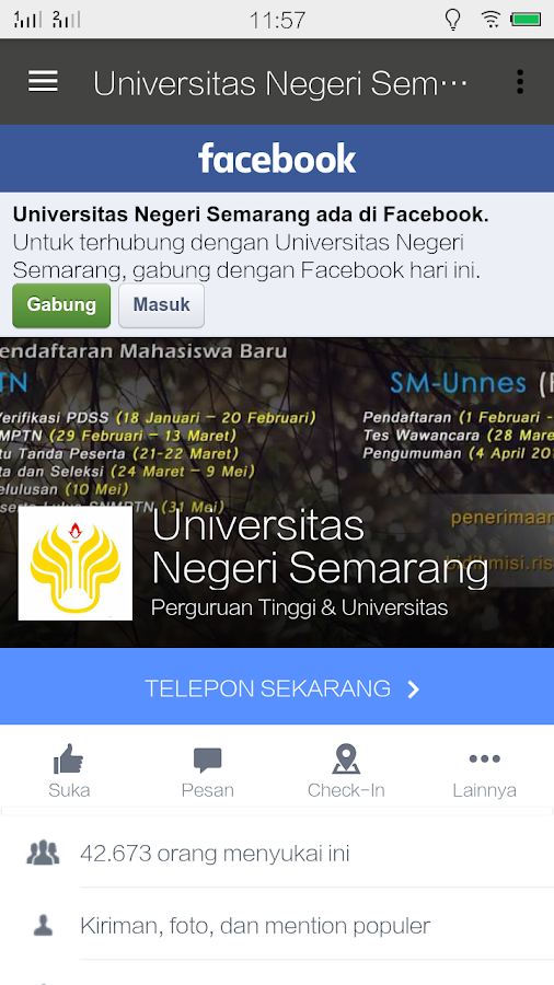 UNNES- screenshot