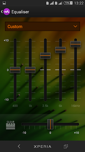 Theme Xperien Spectra screenshot 4