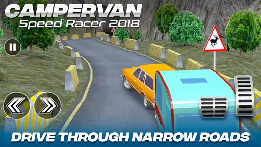 Download Camper Van Race Driving Simulator MOD APK 1