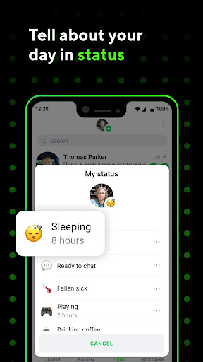 ICQ Messenger: Video Calling App & Chat Rooms 9.9.1(824703) Screenshots 2
