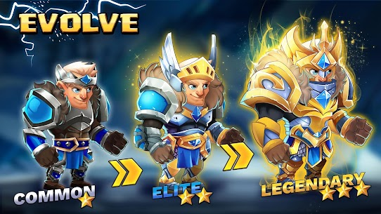 Tiny Gladiators 2: Heroes Duels – RPG Battle Arena Apk Download For Android and Iphone 2