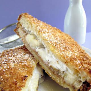 Deep-Fried Fluffernutter Sandwich.