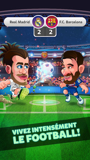 Head Soccer LaLiga Football 2019 Jeux de Football  captures d'écran 1