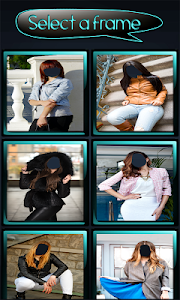 Woman Jacket Photo Montage screenshot 1