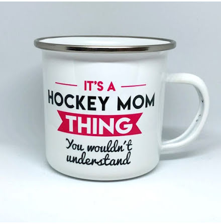 Mugg - It's a hockey mom thing - hallon