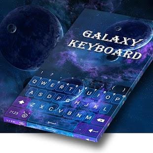 Star Galaxy Keyboard - náhled
