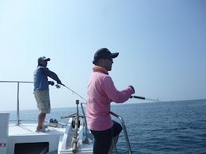 Photo: このお二人も引き続きご乗船。