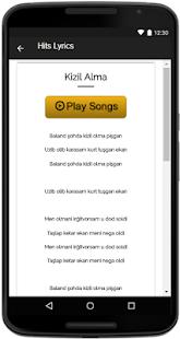 Yulduz Usmonova Songs Lyrics - náhled